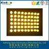 2015 oem 7.6mm dot matrix RoHs green led dot matrix display module