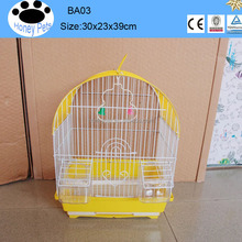 Wholesale Metal antique artificial walk-in bamboo bird cages for Sale