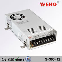 light weight 300w 25a single output power supply 300w 12v led switching power