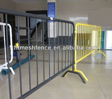 traffic and construction sites Modular barrier /Portable Event Barrier Fence 360 degr welded steel