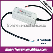 MeanWell Power Supply PLN-30-15(30W 15V) Constant Current/Constant Voltage LED Switching Power Supply and LED Driver