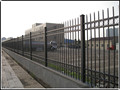 Alibaba supplier wholesale powder-coating steel picket fence