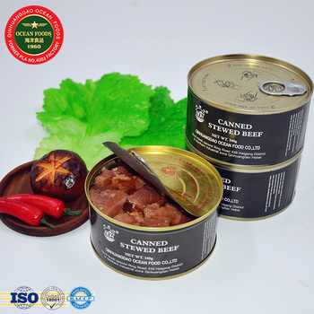 New Products 340g Beidaihe Stewed Beef canned Meat