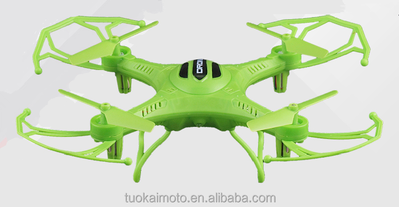 Four-axis aircraft four rotor flying saucer six-axis tricher instrument remote control UAV children's toys a key return