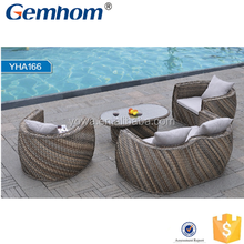 new multicolor outdoor wicker sofa