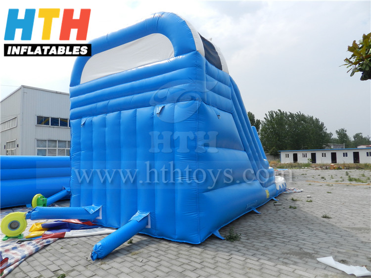 giant inflatable pool slide for adult