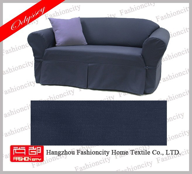 Lower price 100% polyester fabric sofa slip cover