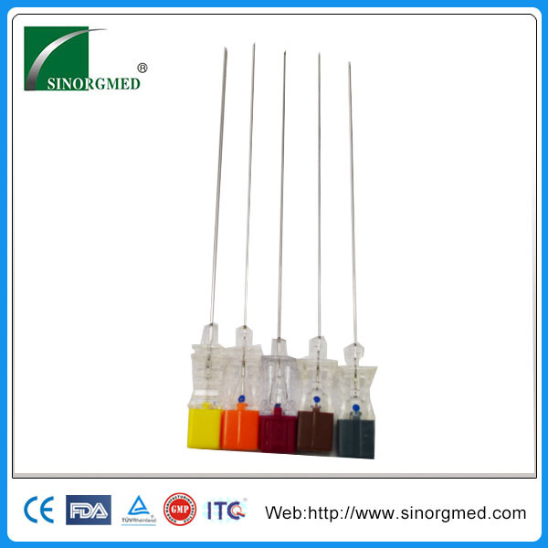 Medical Sterile Long Disposable Needles for Anesthesia