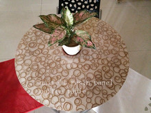 Acrylic Onyx Stone Round Table Marble Top