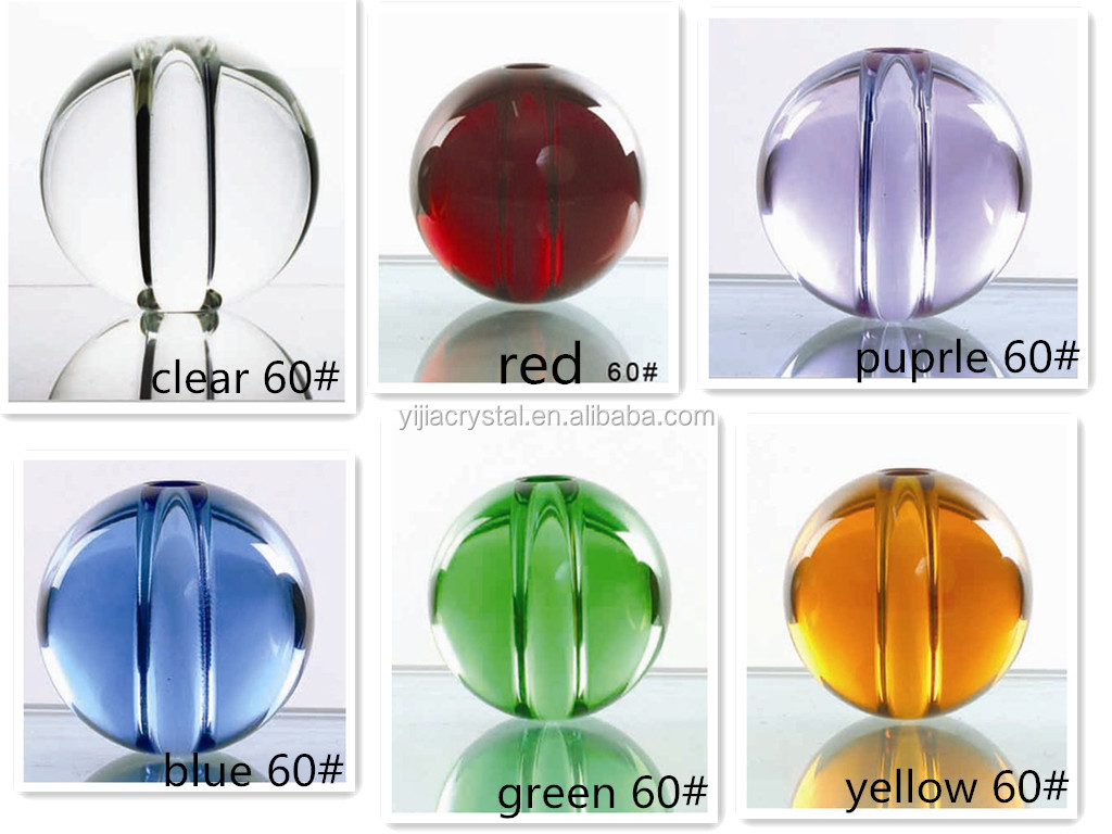 Crystal Ball,ball crystal centerpiece,different color crystal balls glass ball