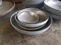 Semi elliptical dished end/ ISO Forged ultra heavy steel dish heads