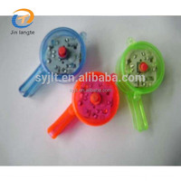 Wholesale and cheap funny plastic whistles led flashing electric whistle