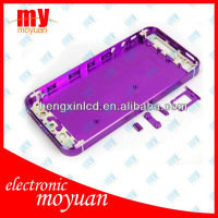 metal back cover for iphone5 battery cover for iPhone 5 housing with spare parts
