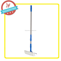 Plastic tool squeegee for car window cleaning brush with telescopic metal stick SY3036