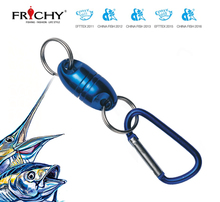 Fishing accessory magnetic net release X67 BL for fly fishing