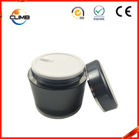 hot sale black acrylic cosmetic packaging jar Face Cream Jars clear plastic ball container Acrylic Jars Detail