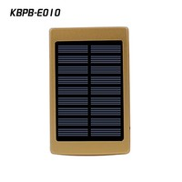 outdoor activity LED light 20000mAh high capacity solar power bank for cell phone