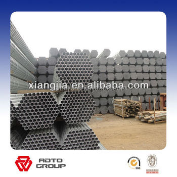 Quality Products Safety Assured Q345 Pre-galvanized scaffold stee tube for africa mauritius