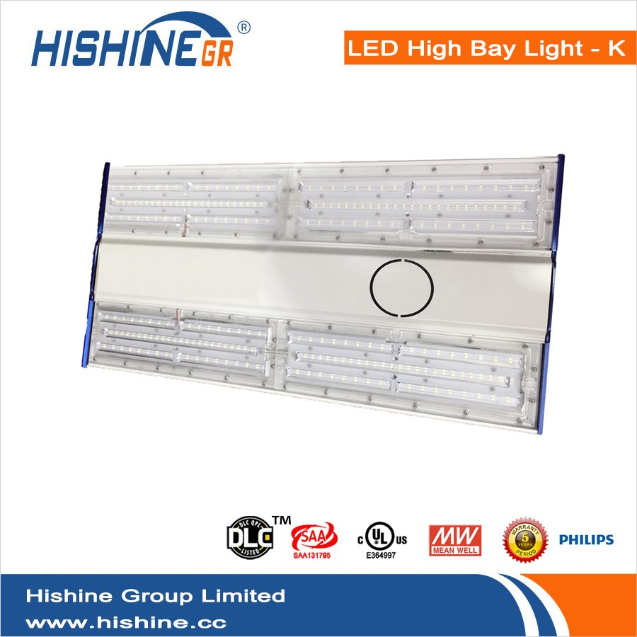 DLC 250W led linear high bay light led linear high bay