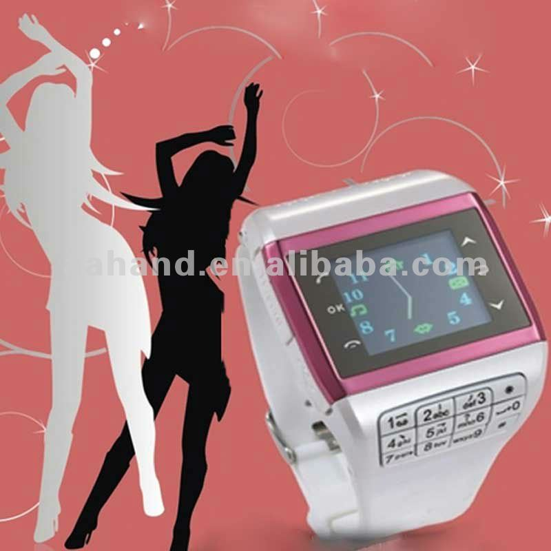 China Watch Phone Q5 with Quadband Touch Screen stylus FM 16kind of color