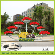 Raised Garden Bed Planter garden pot liners outdoor plastic pots