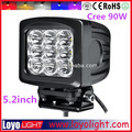 "5.2"" 90W 4X4 ATV/UTV LED Work Light High Quality"