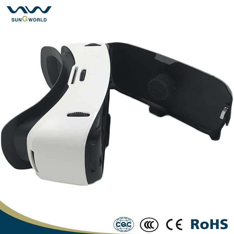 High configutation video headset glasses