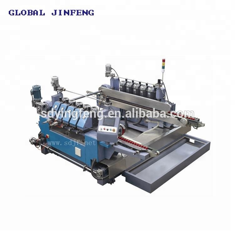 JFD-1008 Small size 8 motors double pencil edge grinding and polishing machine