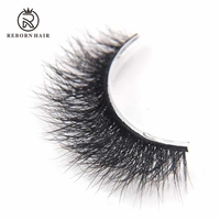 100% Real Mink 3d False Eyelashes High Quality Real Mink 3d Lashes