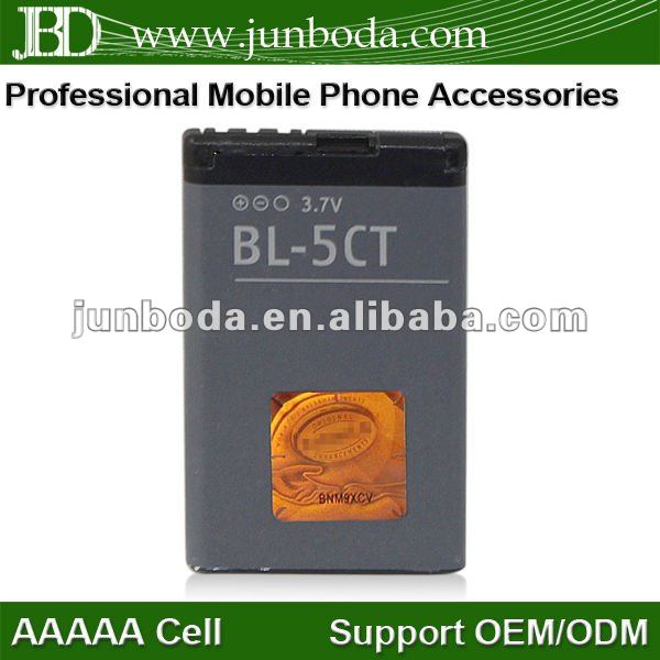high capacity 1050mah bl-5ct battery for nokia c5-00 c6-01