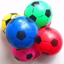 plastic balls 22cm inflatable soccerball beach toys for kids