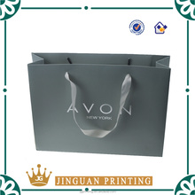 Custom printing fashion luxury gift shopping paper bags with your own logo