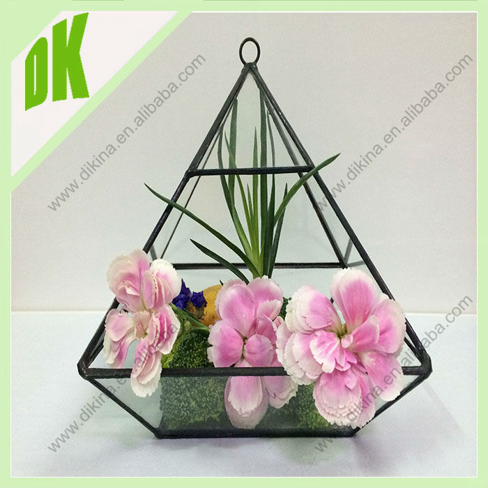 Add life to your desk, kitchen or coffee table. Also makes a splendid gift. wholesale Geodesic Triple Vial Terrarium Kit