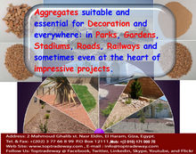 Outdoor paving natural stone aggregates/Chips