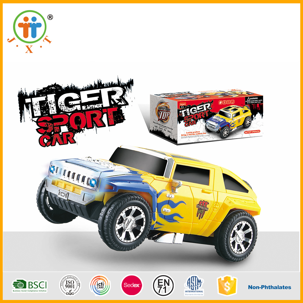 Unique design deformation small car smart toys for children with best price