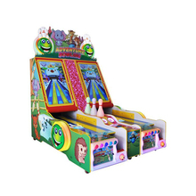 Children game machine coin operated bowling equipment cricket bowling machine for sale