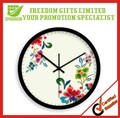 Best Selling Logo Printed Plastic Wall Clock