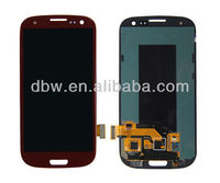 Mobile phone spare parts for samsung galaxy s3 i9300 lcd touch screen digitizer