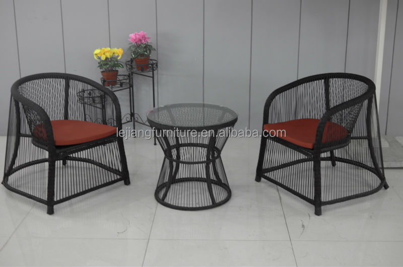 outdoor garden set french bistro rattan chairs