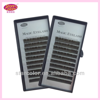 Eyelash Extensions Brown 105