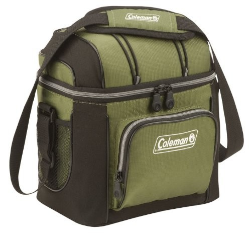 9-Can Soft Cooler With Hard Liner