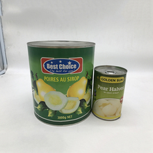 Promotional top quality canned pear