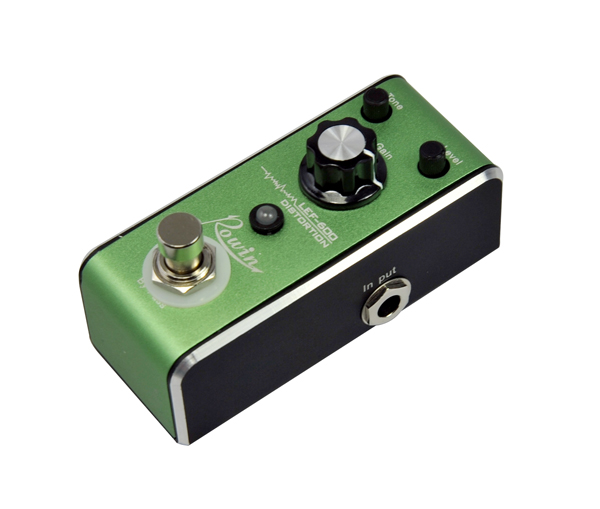 Guitar effects pedal distortion - rich and lively wonderful music play