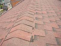 Roof Heat Insulation Materials , Wholesale Red Roofing Shingles