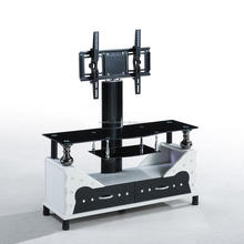 Fashion telescoping popular iron wood detachable tv stand