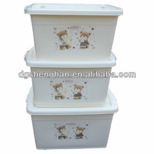 Quality Custom plastic Storage Container with lid injection molding mould