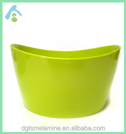 Wholesale oval melamine salad bowls in assorted colors