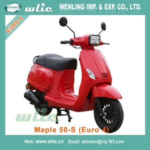 2018 New cheap muticolor sscooter mopeds 125cc spare parts aveliable moped scooter Maple S 50cc/125cc