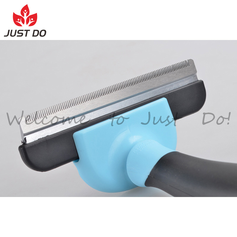 Professional Dog Deshedding Tool Pet Grooming Brush