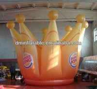 Advertising inflatable crown for decoration